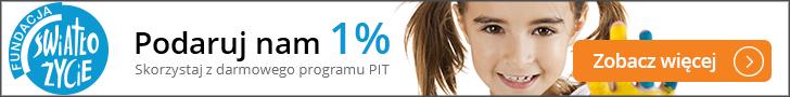 1% baner