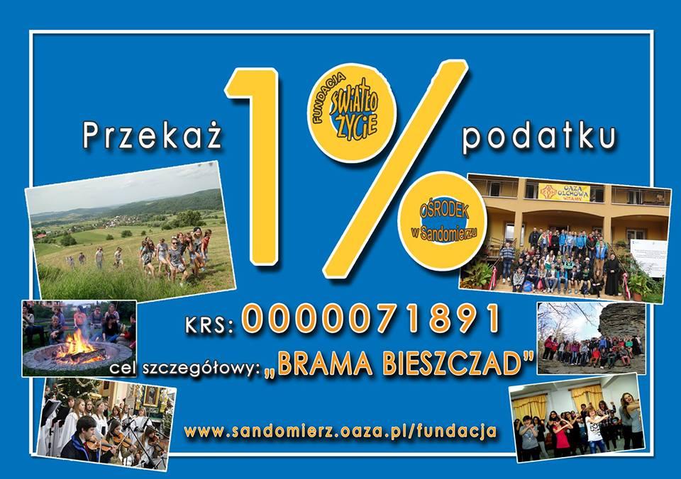 1 procent dla Fundacji